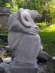 LISE BECU Dreamer granite, 24h x 16 x 9 $4200
