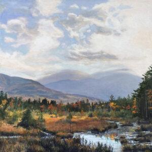 JUDY BELASCO Autumn, Baxter Marsh oil on canvas, 24 x 24 inches $5000