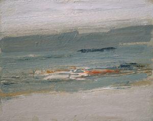 RAGNA BRUNO At the Edge oil on board, 8 x 10 inches