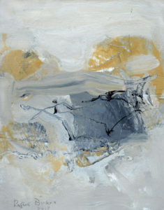 RAGNA BRUNO Landscape Puzzle oil on board, 10 x 8 inches