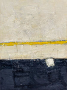 RAGNA BRUNO Yellow Light oil on board, 40 x 30 inches $4500