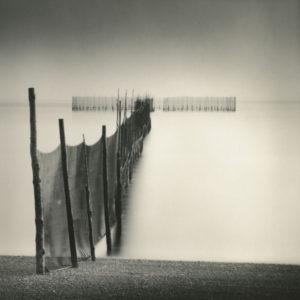 LISA TYSON ENNIS Fishing Weir Study XVII, Campobello toned silver print, 14 x 14 inches