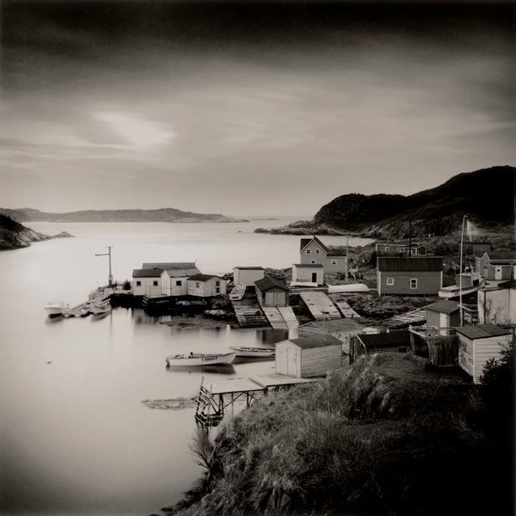 LISA TYSON ENNIS Grand Bruit, Newfoundland, toned silver prints, 14 x 14 inches
