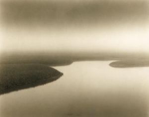 LISA TYSON ENNIS Marsh Study III original toned silver print, 7 x 9 inches