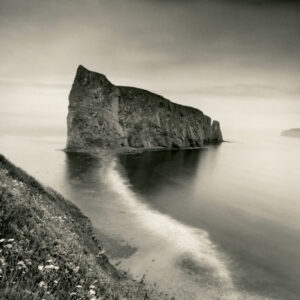 LISA TYSON ENNIS Perce Rock, Gulf of Saint Lawrence, Quebec edition of 40 toned silver print, 14 x 14 inches $1200