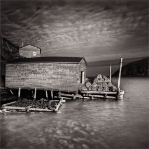 LISA TYSON ENNIS Round Harbour, Newfoundland edition of 40 toned silver print, 14 x 14 inches $1200