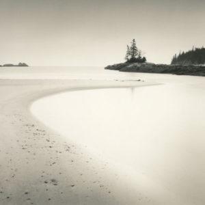 LISA TYSON ENNIS Sand Beach at Dawn 2/40 toned silver gelatin print, 14 x 14 inches $1150