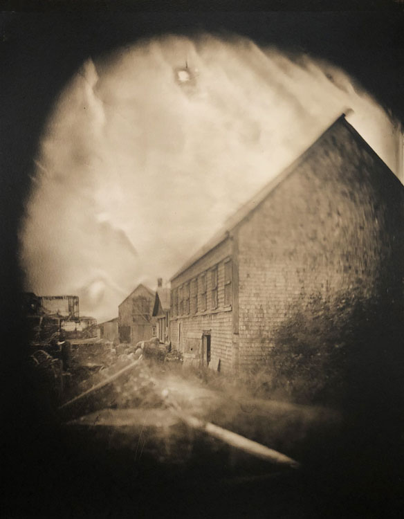LISA TYSON ENNIS What Once Was, Study I, toned silver gelatin from 8x10 glass negative, 20 x 24 inches