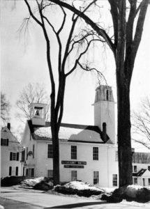 BERENICE ABBOTT Old Fire House in Damariscotta, c. 1966 vintage silver gelatin photograph, 10 x 8 inches