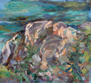 GRETNA CAMPBELL Back Shore Sunset, 1984 oil on canvas, 38 x 42 inches $18,000
