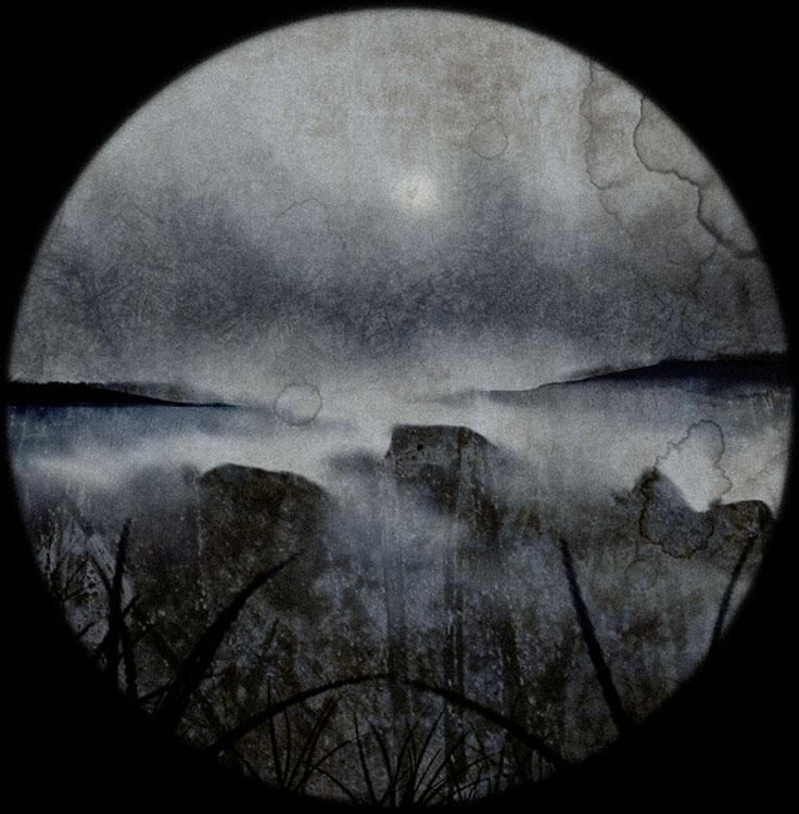 LILIAN DAY THORPE Acadia Arcadia II, digital montage, 10 x 10 inches