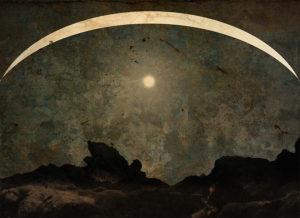 LILIAN DAY THORPE Homage to Caspar David Friedrich photomontage, 8.7 x 12 inches edition of 25 $300
