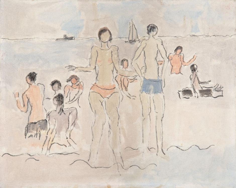 PATRICK MCARDLE Asharoken, 1970, oil on canvas, 16 x 20