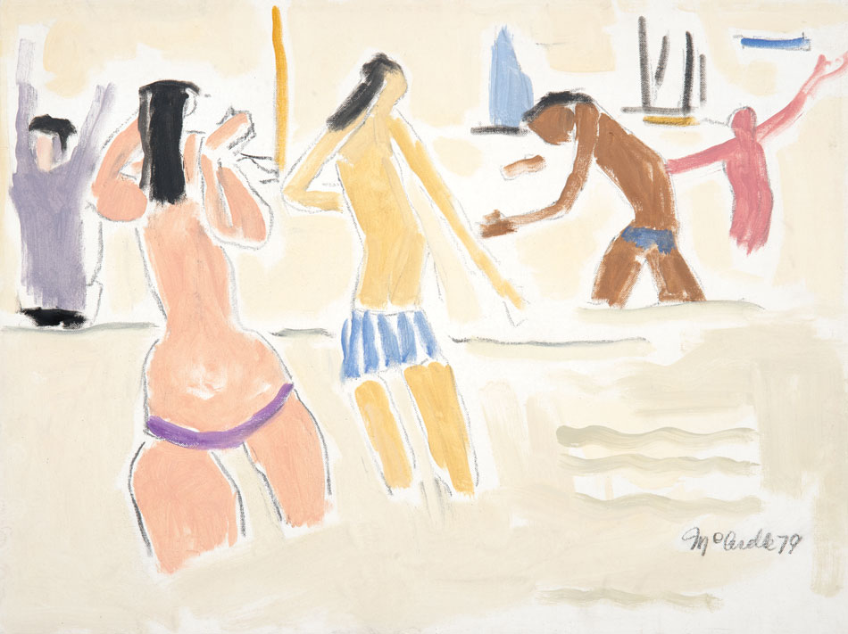 PATRICK MCARDLE Long Island Sound, 1979, oil on canvas 18 x 24