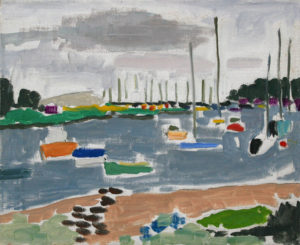 PATRICK MCARDLE Northport Harbor oil on canvas, 16 x 20