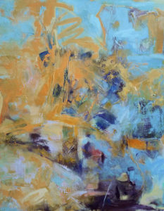 LINDA PACKARD Late July oil on panel, 30 x 24 $2500