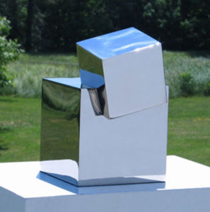STEPHEN PORTER Cubi 1 stainless steel, 6 x 8 x 10 inches