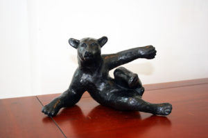 CYNTHIA STROUD Say What?! 4/12 bronze, 6 x 7 x 10 inches $2100