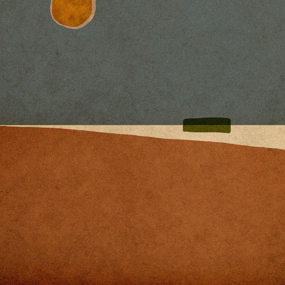 LILIAN DAY THORPE Summer, digital montage, 12 x 12 inches