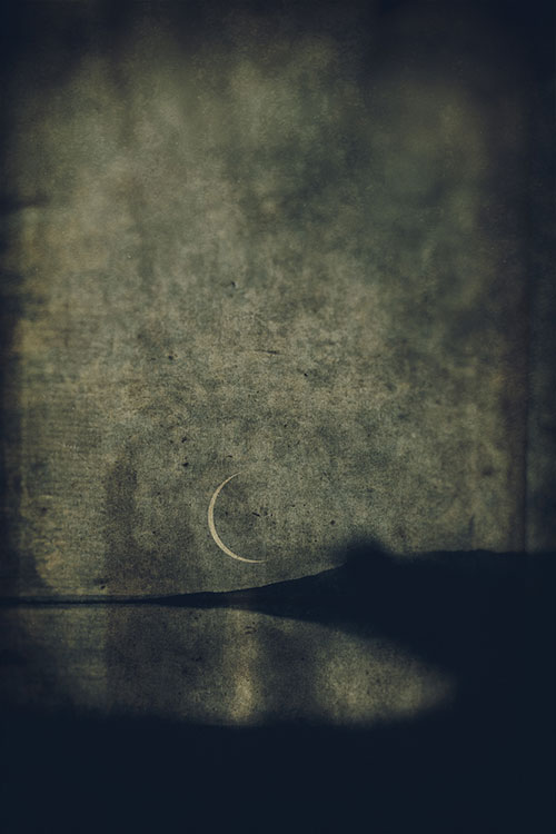 LILIAN DAY THORPE Soft Night, digital montage, 22 x 17 inches