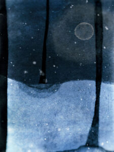 LILIAN DAY THORPE Winter Elegy photomontage, 16 x 12 inches edition of 15 $500