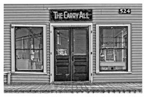 ALAN VLACH Carry All photopolymer gravure, 9.25 x 6 inches