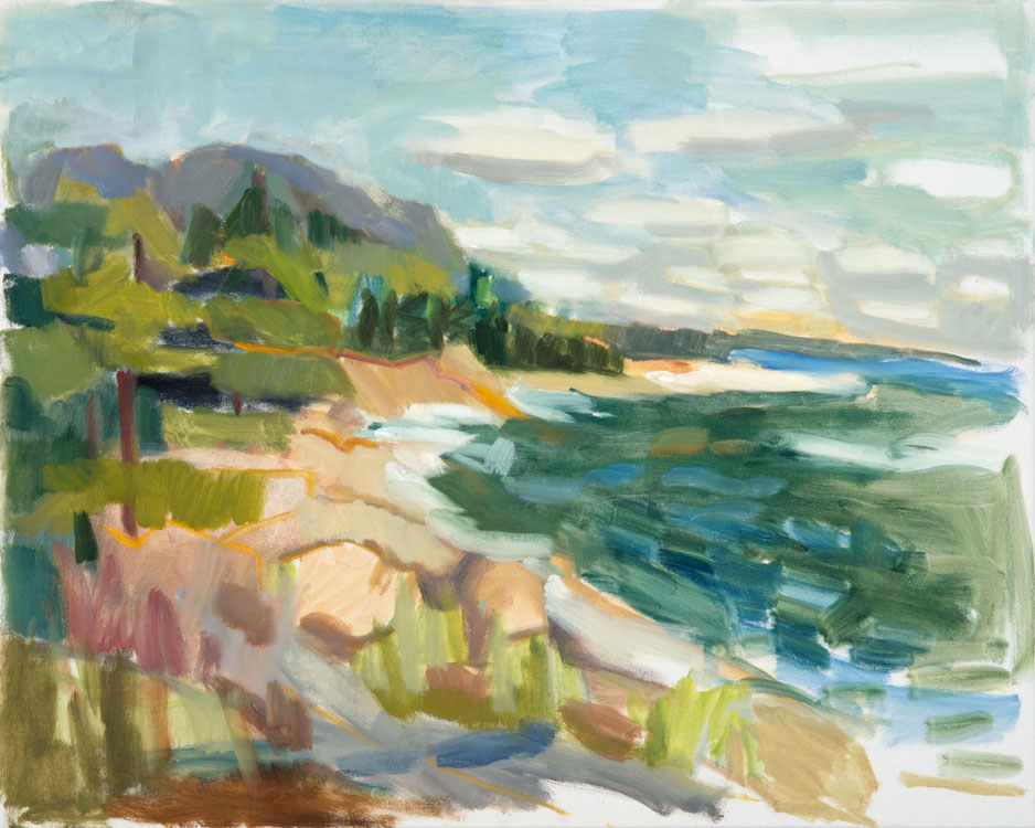 ROSIE MOORE Acadia, oil on canvas, 30 x 24 inches
