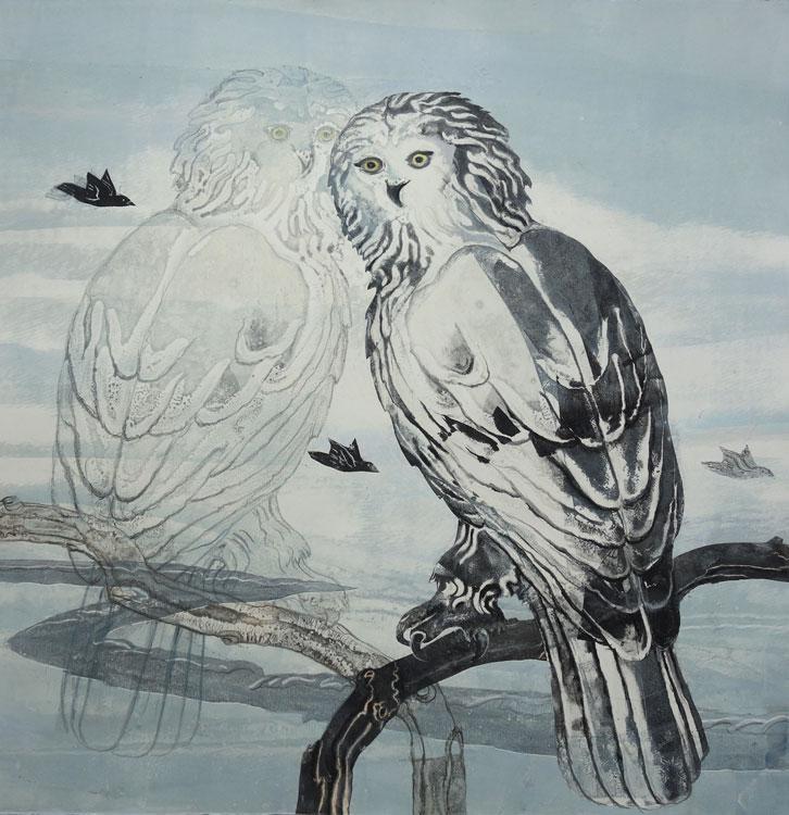SUSAN AMONS Snowy Owl II No.5