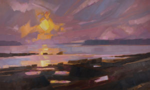 PHILIP FREY Faith in the Sun oil on linen, 36 x 60 inches $9500