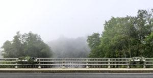 HEATH PALEY Bridge View dye-sublimation on aluminum, 37 x 72.3 inches