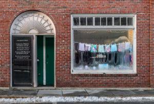 HEATH PALEY Window Dressing dye-sublimation on aluminum, 47 x 69.4 inches