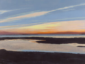 B MILLNER Morning Ledge oil on canvas wrapped panel, 24 x 30 inches $5800