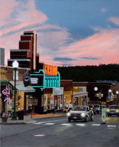 B MILLNER The Grand oil on canvas wrapped panel, 30 x 24 inches $5000