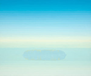 TOM CURRY Serene Waters oil on panel, 36 x 43 inches $14,000