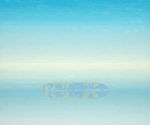 TOM CURRY Mist oil on panel, 36 x 43 inches $14,000