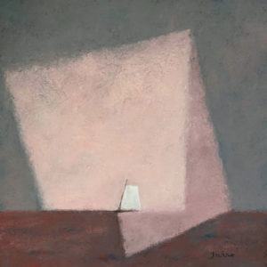 WILLIAM IRVINE Pink Cloud III oil on canvas, 36 x 36 inches $7500