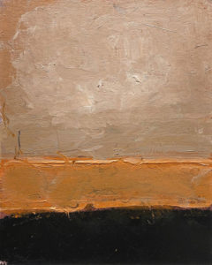 RAGNA BRUNO Corona Series II oil on board, 10 x 8 inches