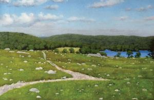 JOSEPH KEIFFER Blueberry Barren, Sedgwick, ME oil on canvas, 20 x 30 inches $3800
