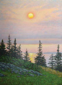 JOSEPH KEIFFER Dawn, Maine oil on canvas, 44 x 32 inches $7600