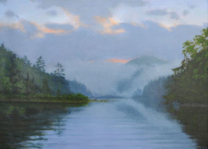 JOSEPH KEIFFER Morning Fog oil on canvas, 18 x 24 inches $2800