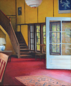 JOSEPH KEIFFER White Door oil on canvas, 18 x 14 inches $2200