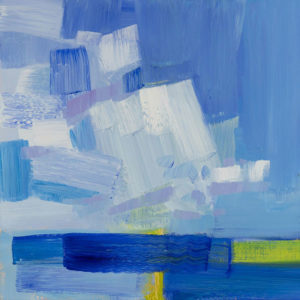 PHILIP FREY On Balance oil on canvas, 12 x 12 inches SOLD