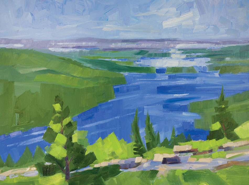 PHILIP FREY Vast View oil on canvas, 30 x 40 inches