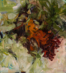 LINDA PACKARD Longing oil on panel, 30 x 27 inches $2800