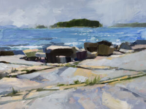 PHILIP FREY Interlude oil on canvas, 18 x 24 $2600
