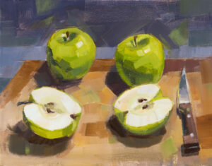 PHILIP FREY Any Which Way You Slice It oil on canvas, 11 x 14 inches $1400