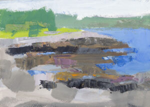 PHILIP FREY Intertidal oil on panel, 5 x 7 inches SOLD