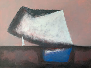 WILLIAM IRVINE Cloud Settling oil on canvas, 30 x 40 inches SOLD