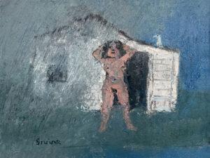WILLIAM IRVINE Sun Shower oil on panel, 12 x 16 inches $2800