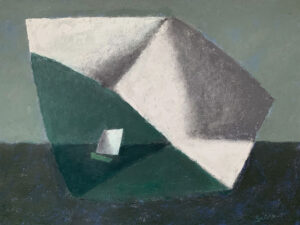 WILLIAM IRVINE Under the Cloud oil on panel, 30 x 40 inches $7800